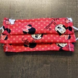 Child's Minnie Mouse Face Mask